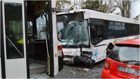 Crianças feridas em acidente com autocarros na Covilhã já tiveram alta