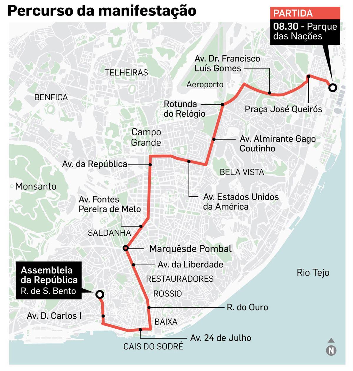 Violência e detenções em protesto de taxistas contra a Uber — Portugal