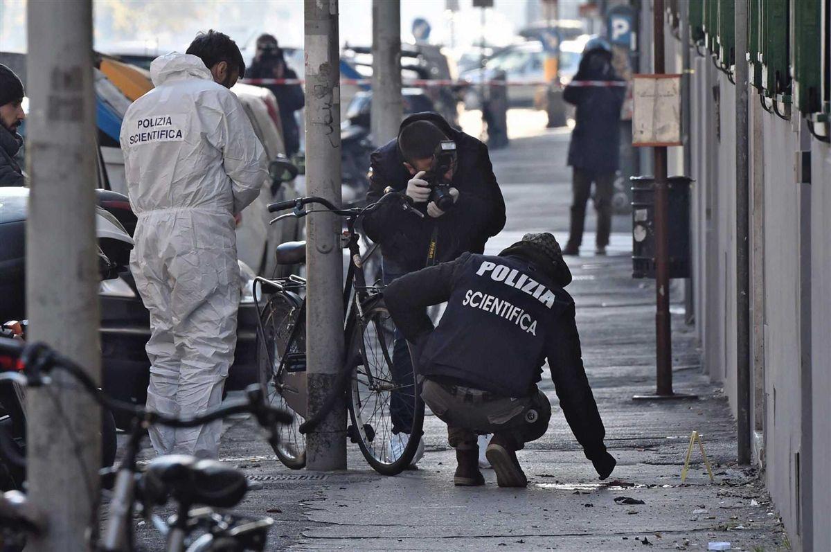 Resultado de imagem para Polícia perde uma mão e um olho em explosão de bomba em Florença