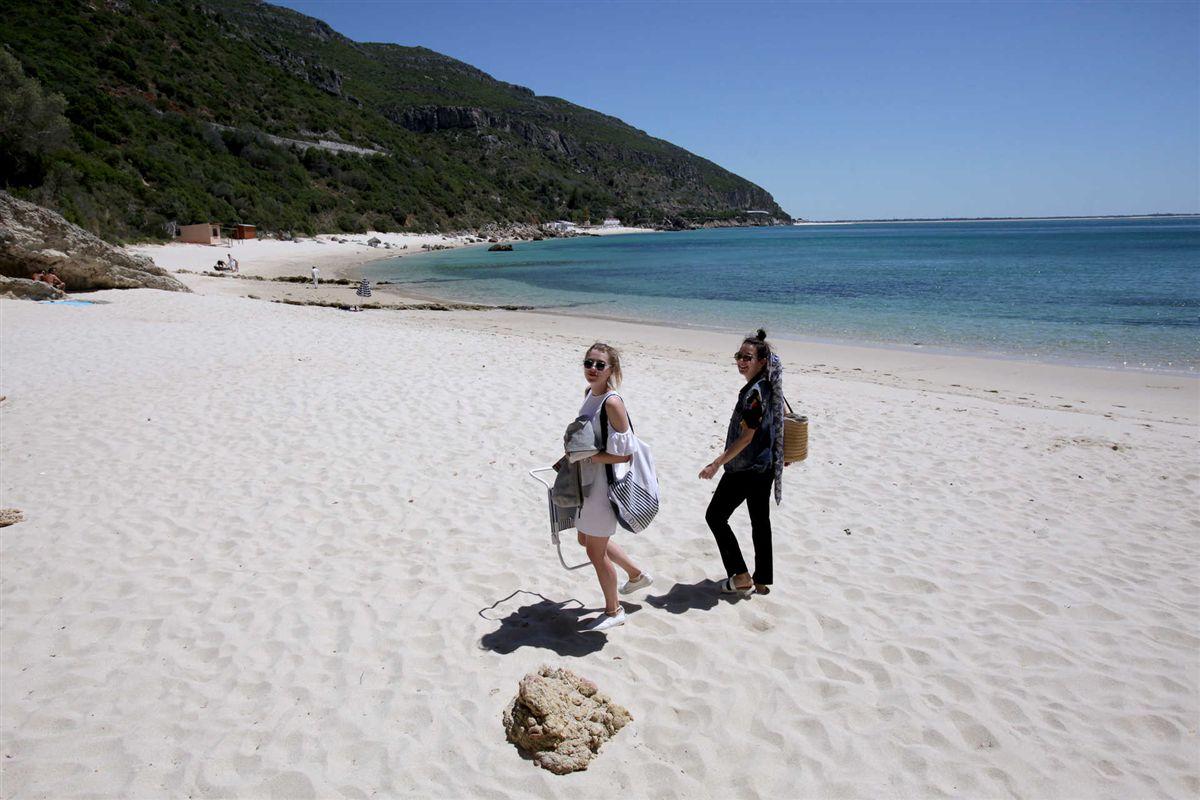 Resultado de imagem para Setúbal usa melhor praia da Europa para promover costa da Arrábida