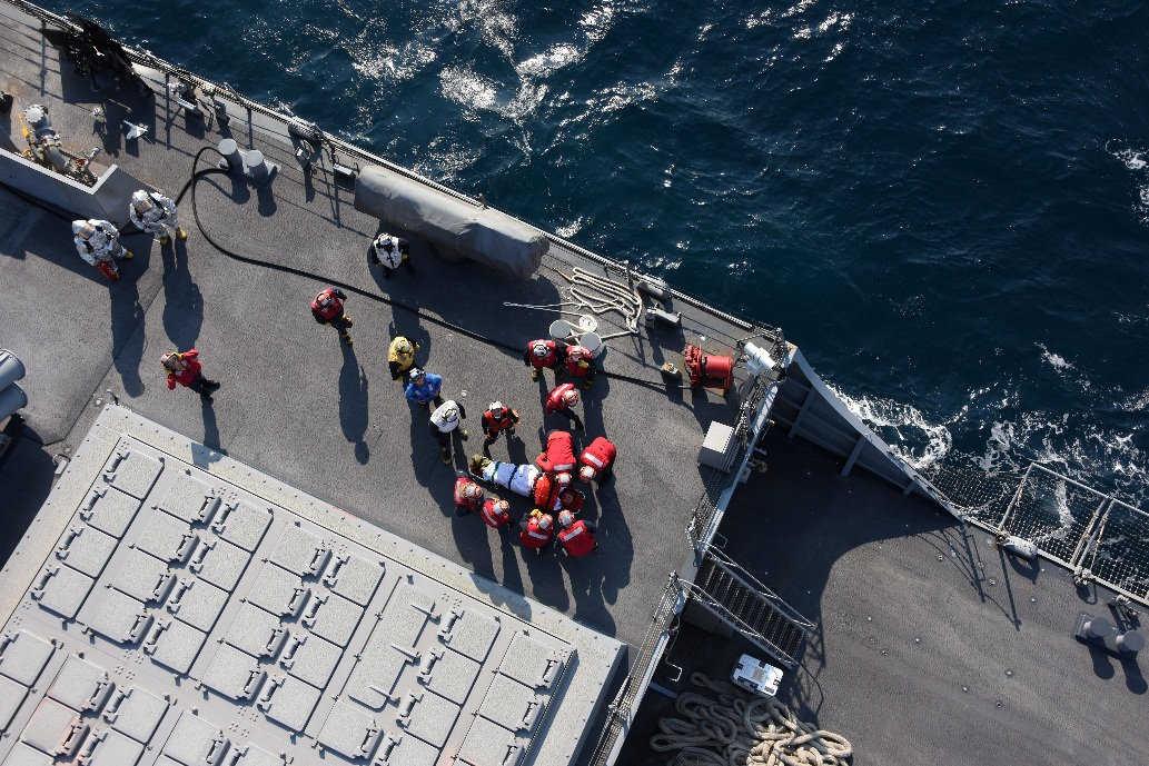 Resultado de imagem para O choque entre o USS Fitzgerald e o mercante ACX Crystal ocorreu quando o destróier navegava 56 milhas náuticas a sudoeste da cidade japonesa de Yokosuka