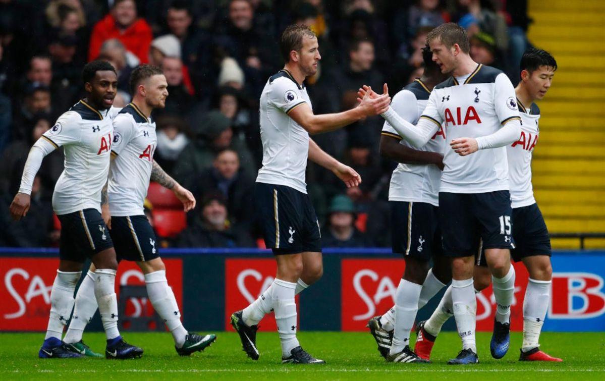 Tottenham bate Watford com bis de Kane e Delle Ali