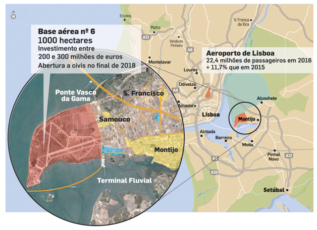 Live. Governo assina acordo para novo aeroporto no Montijo