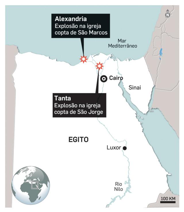 Presidente egipcio declara estado de emergência