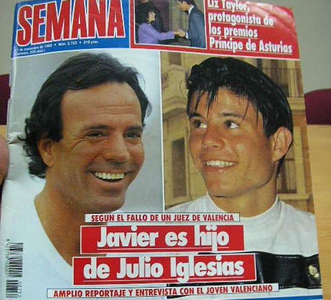 ADN prova que Julio Iglesias tem um filho de uma portuguesa