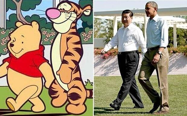 Winnie the Pooh foi banido da China