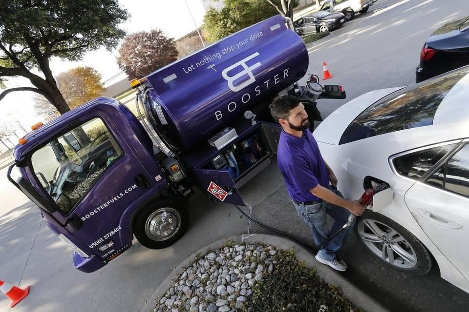 """""""UBER"""" chegou ao abastecimento de combustível"""