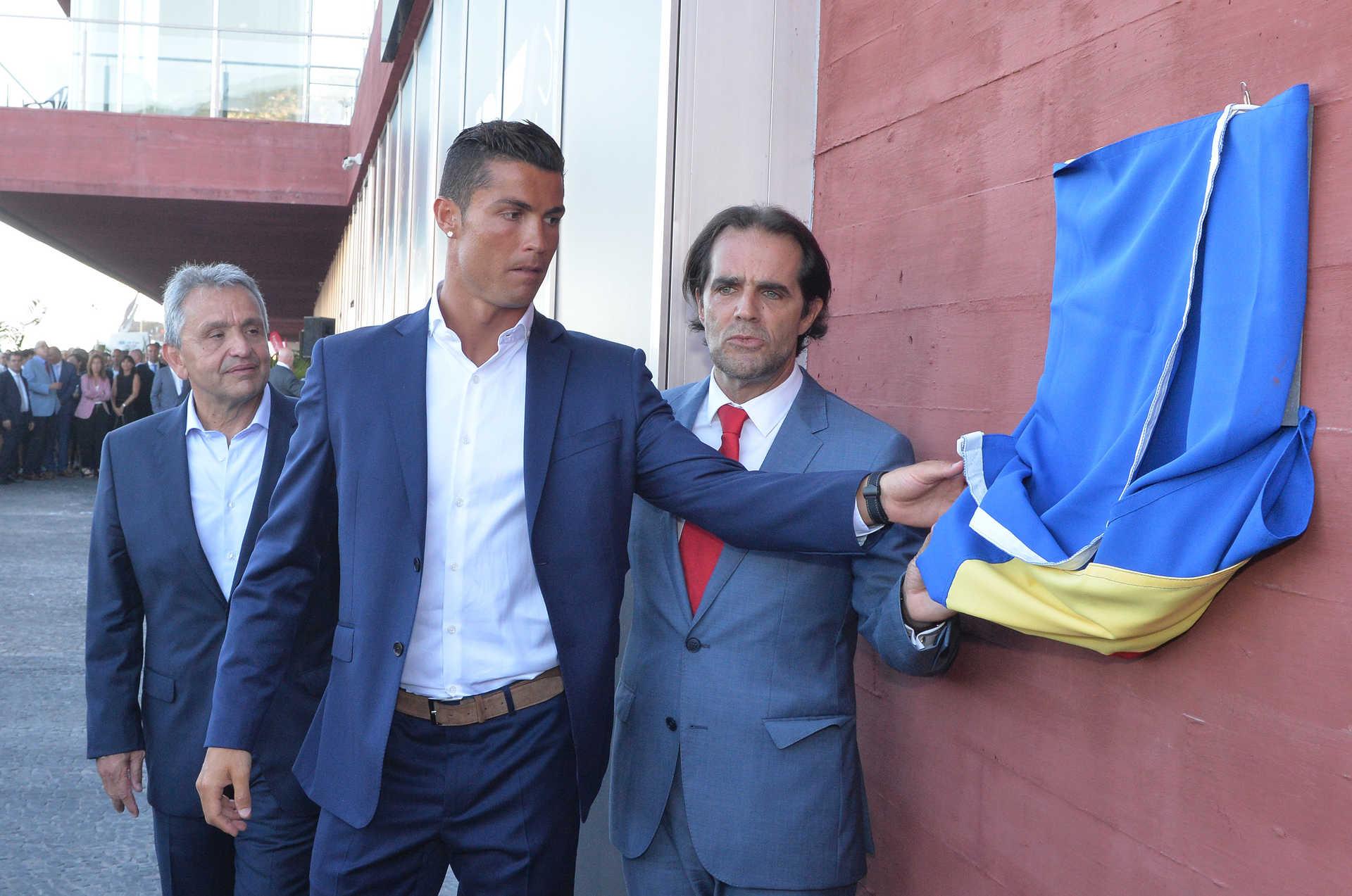 Aeroporto terá nome de Cristiano Ronaldo