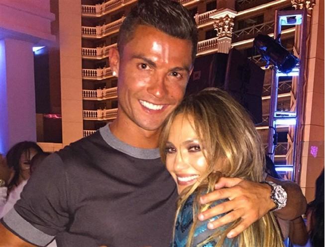 CR7 foi ao aniversário de Jennifer Lopez
