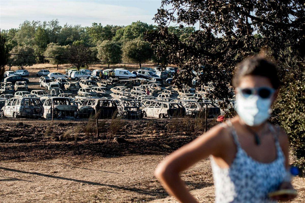 Festival Andanças evacuado por causa de incêndio