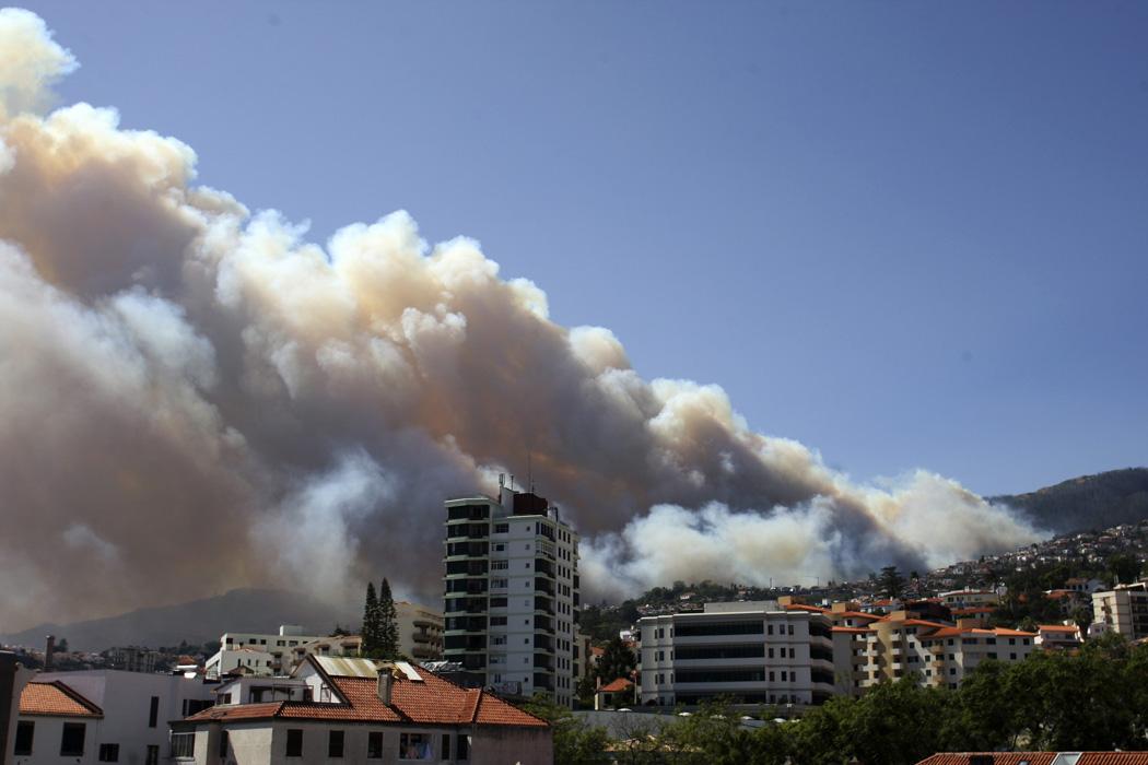 Incêndios: Presidente da República e primeiro-ministro vão à Madeira