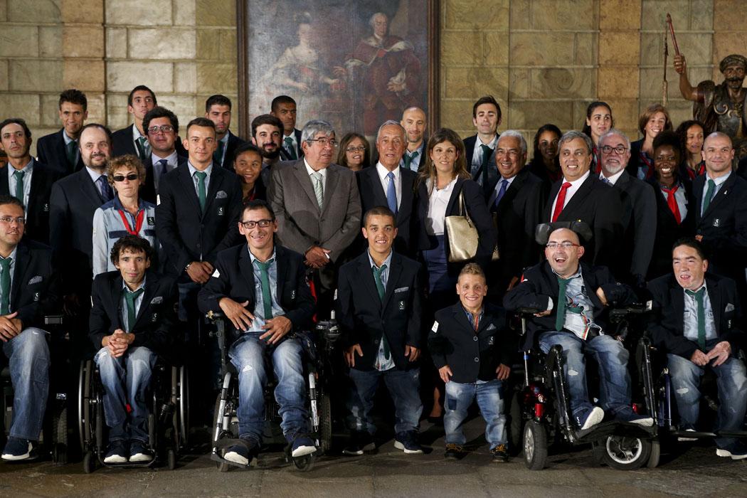 Resultado de imagem para atletas paralímpicos portugueses
