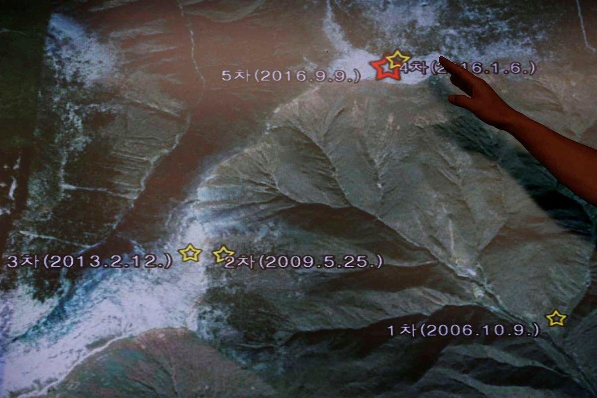 Coreia do Norte provoca sismo com teste nuclear