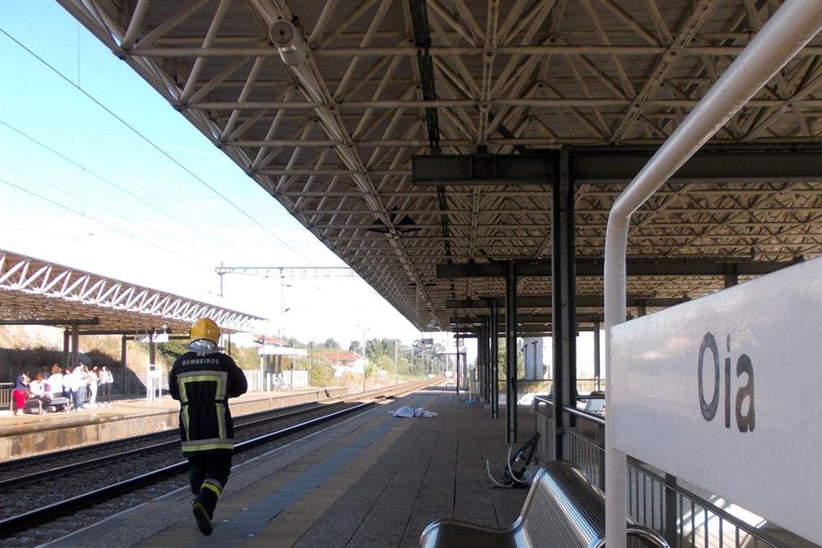 Homem morre colhido por comboio em Oliveira do Bairro