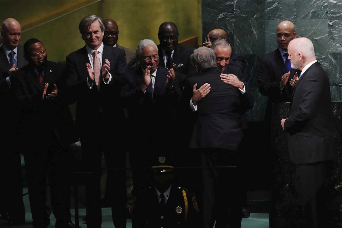 As mudanças esperadas de António Guterres foram notícia em todo o mundo