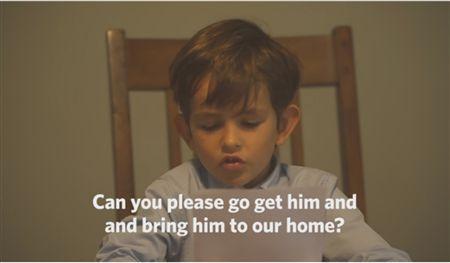 Menino pede a Obama para que o ajude a adotar refugiado sírio