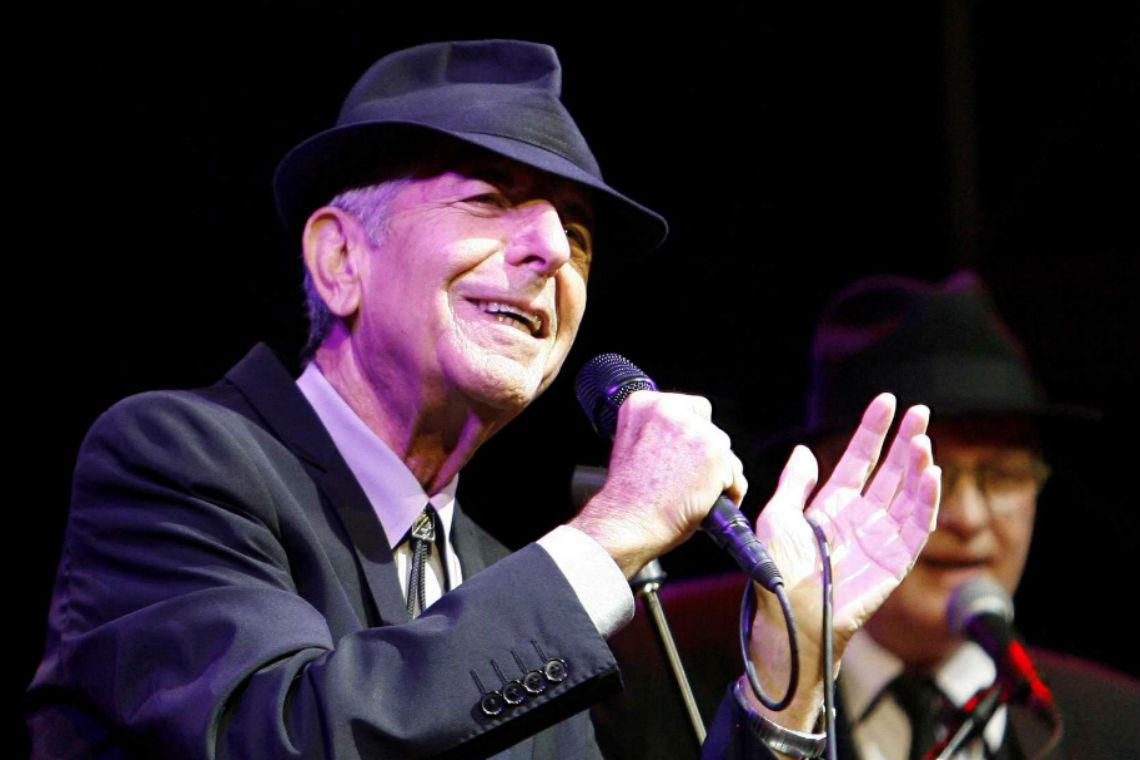 Aos 82 anos, morre o cantor e escritor Leonard Cohen