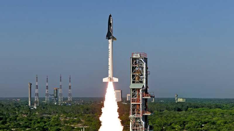 Índia lança o protótipo da sua nave espacial