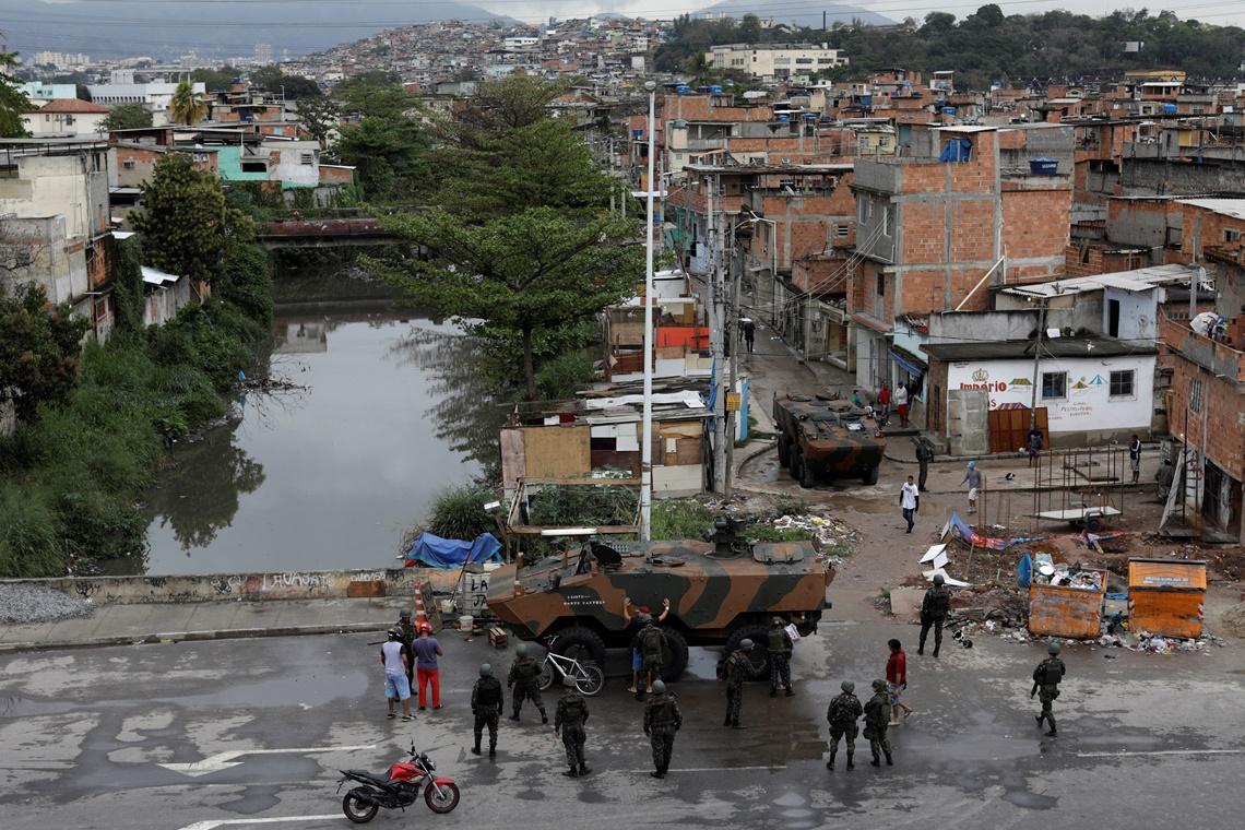 Dias de violência no Rio de Janeiro Ng8748355