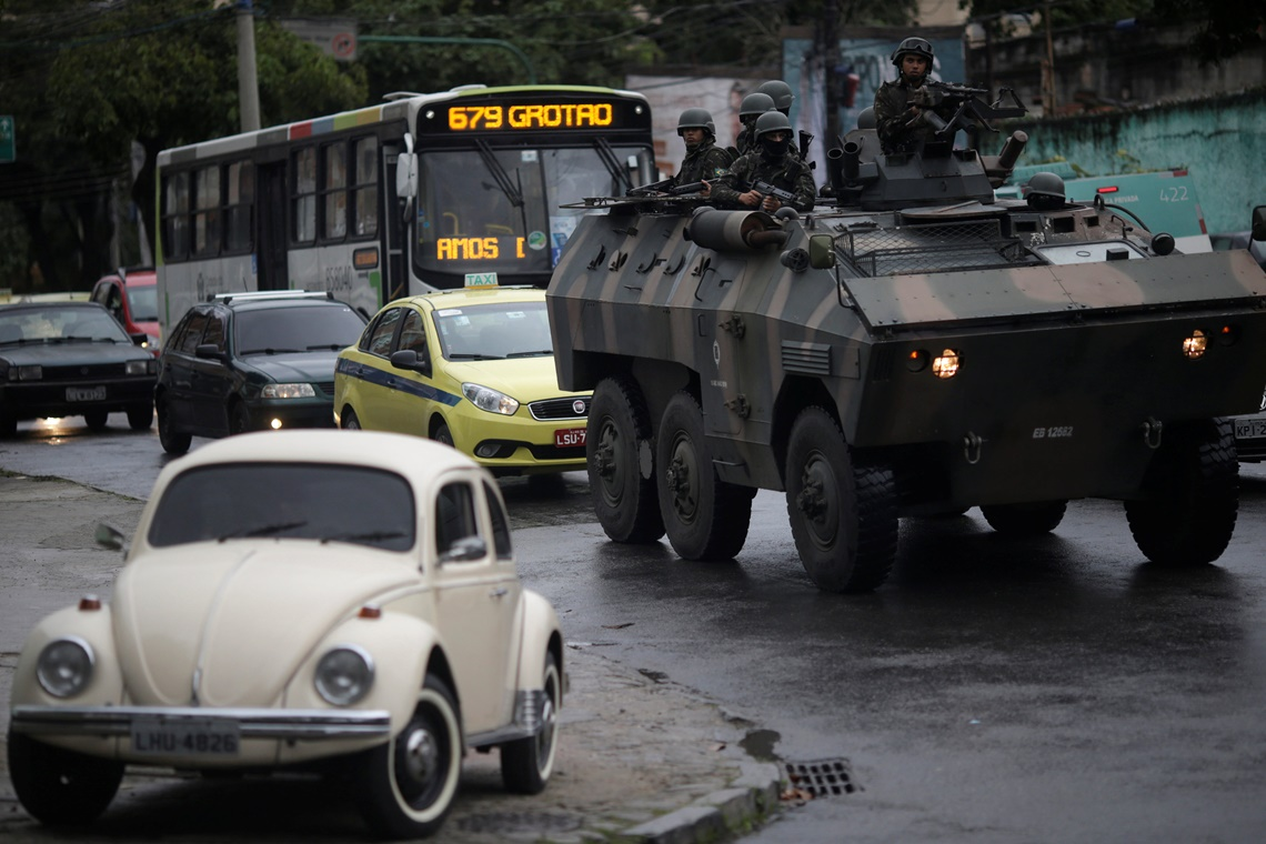 Dias de violência no Rio de Janeiro Ng8748361