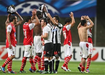 Sp. Braga na fase de grupos da Liga dos Campeões