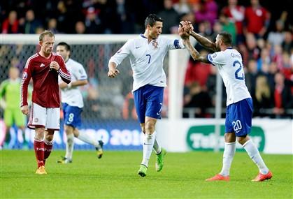 Ronaldo deu a vitória a Portugal aos 90+5 minutos