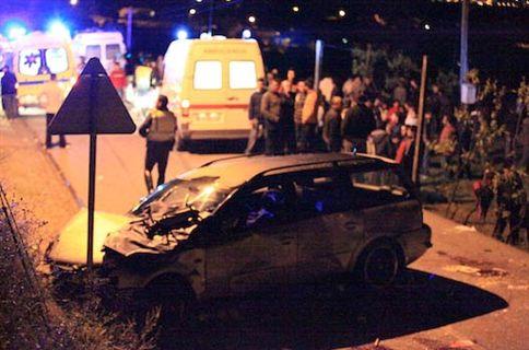 Automóvel abalroou procissão e matou duas pessoas e feriu oito