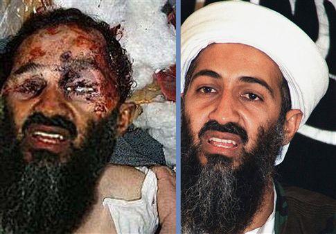 Primeira imagem do suposto cadáver de bin Laden era falsa
