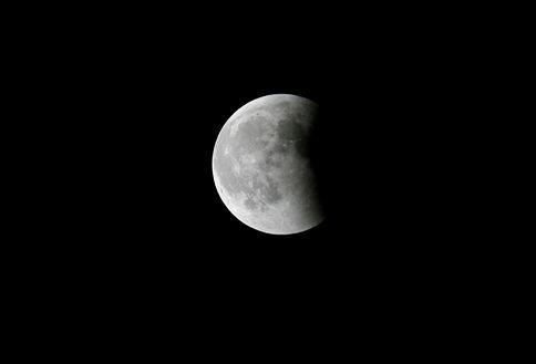 Eclipse total da Lua será visível esta quarta-feira