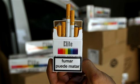 OMS quer mais países com imagens chocantes nos maços de cigarros
