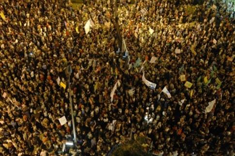 Duzentos mil manifestantes em Telaviv contra injustiças sociais