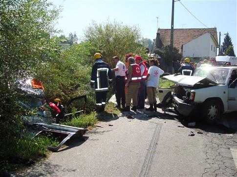 Acidentes fazem um morto e dois feridos graves em Águeda