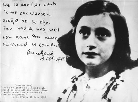 Jovem delinquente condenada a ler o Diário de Anne Frank