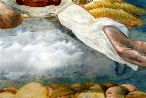Diabo encontrado num famoso fresco de Giotto