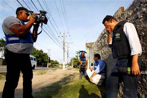 Sindicato dos Jornalistas brasileiros culpa TV Bandeirantes pela morte de repórter