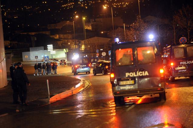 Polícia protegeu autocarro do F.C. Porto no Dragão