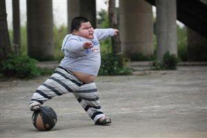 Chinês de quatro anos pesa 62 quilos