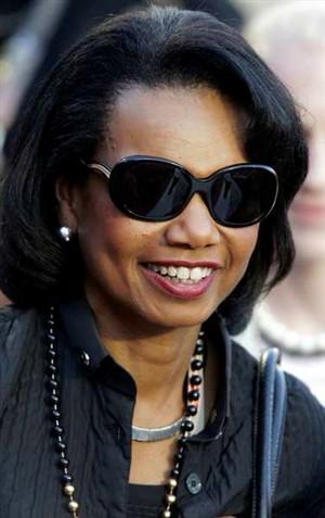 Condoleezza Rice, ex-secretária de Estado dos EUA -Foto CHIS O'MEARA/AFP