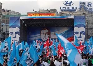 """Dirigente comunista considera eleições na Rússia """"ilegítimas"""""""