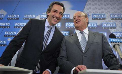 Pinto da Costa apresenta Júlio Magalhães no Porto Canal