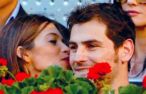 Casillas ofereceu anel de 3500 euros à namorada
