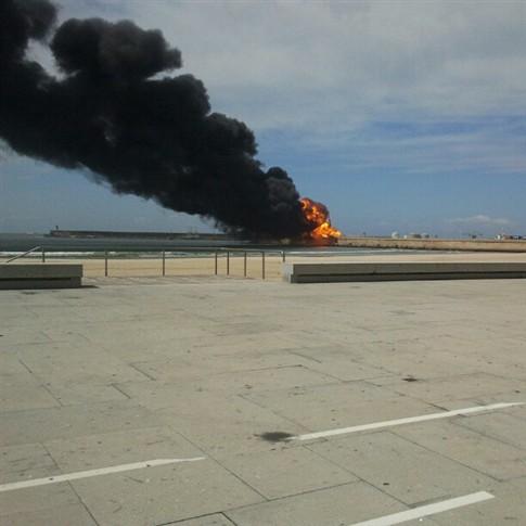 Explosão de conduta de gás causou várias vítimas no Porto de Leixões