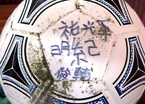 Bola perdida no tsunami do Japão apareceu nos EUA