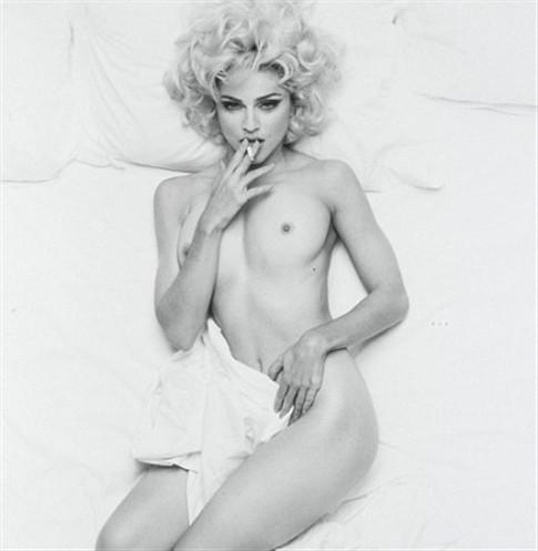Madonna - nua