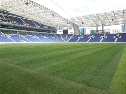 Estádio do Dragão já tem relva nova