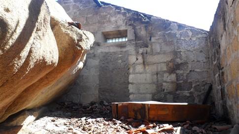 Incêndio destrói telhado da capela da Senhora da Lapa