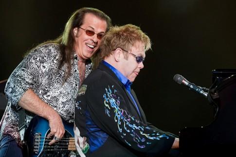 Morreu Bob Birch, baixista de Elton John