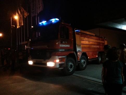 Incêndio em fábrica de espumas em Ovar rapidamente extinto