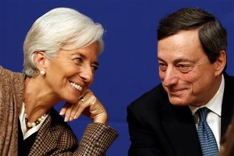 """Christine Lagarde: Situação económica na zona euro continua """"frágil"""""""