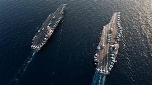 Navios dos EUA, França e Grã-Bretanha atravessam estreito de Ormuz